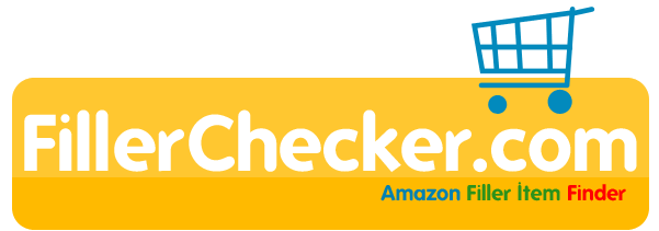 Amazon Filler Item Checker